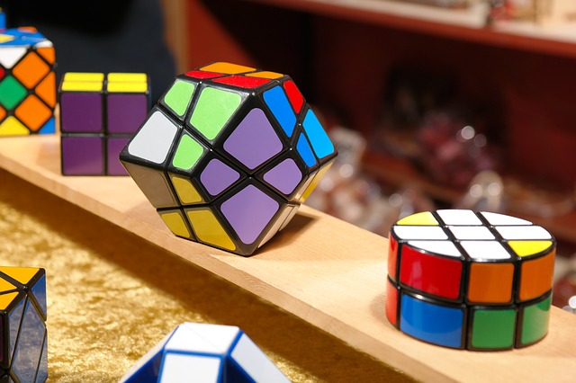 Toys Magic Cube Patience Games Tricky Puzzle
