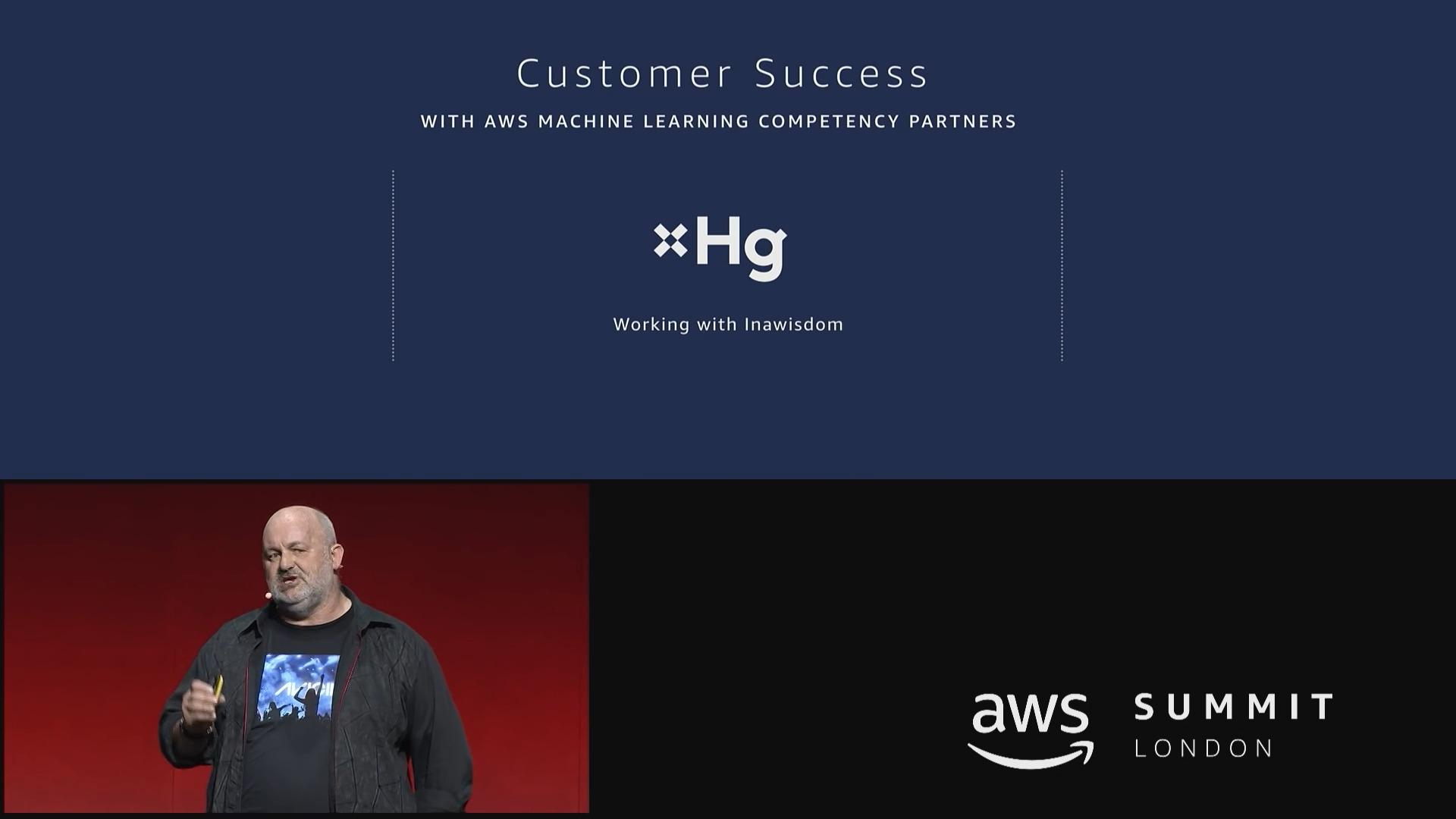 Werner Vogels - Hg case study in AWS London Summit 2018 Keynote