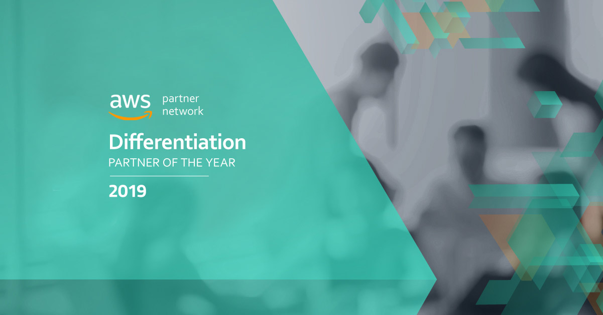 AWS Partner of the Year 2019 - Differentiation