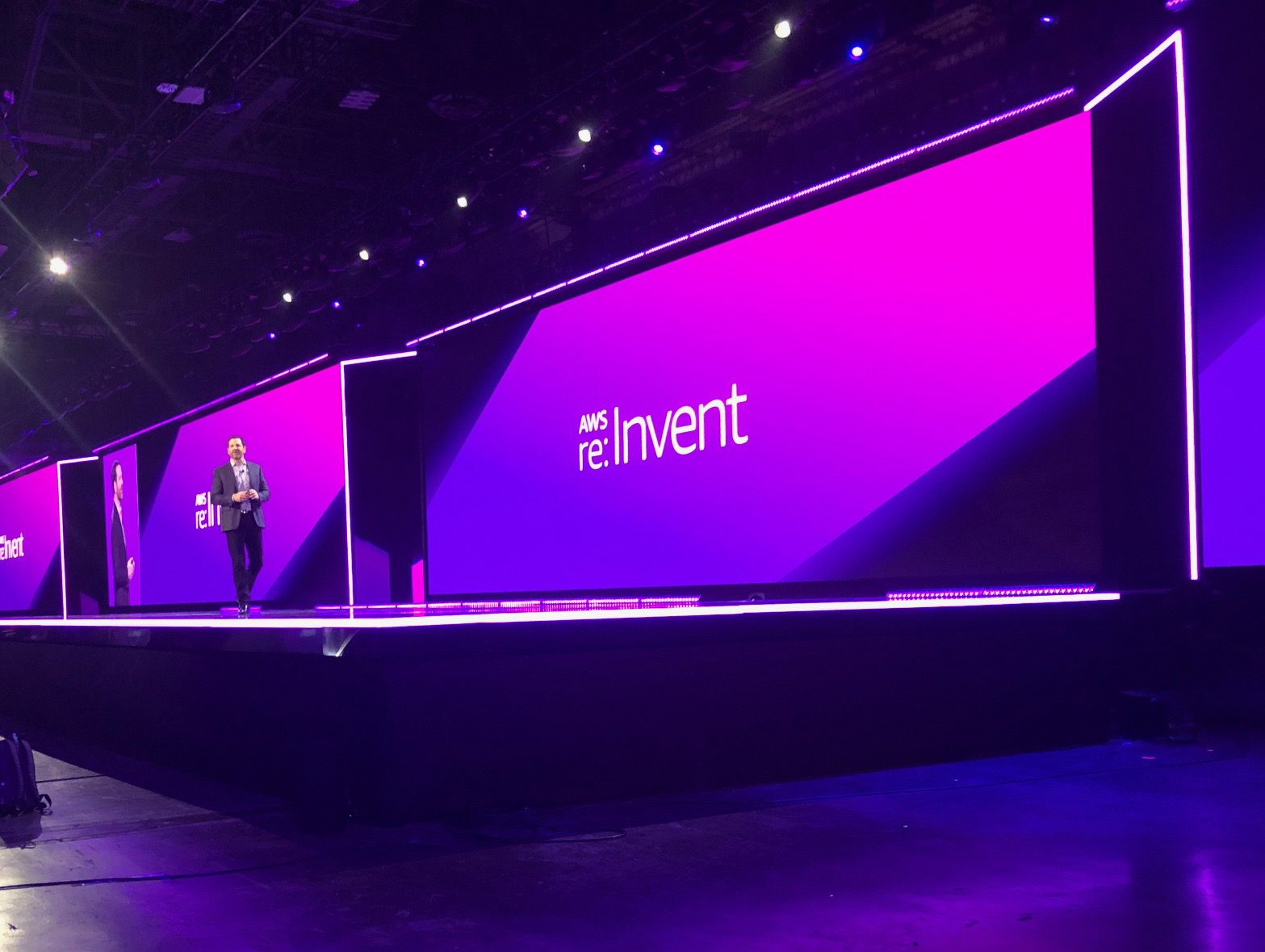 The Big Stage at re:invent 2018